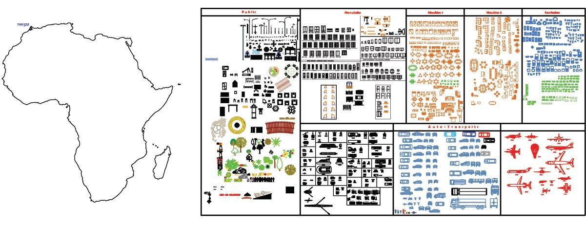 Nouveau Ressource DWG: Bibliothèque AutoCAD N°2 | Cours BTP EE-18