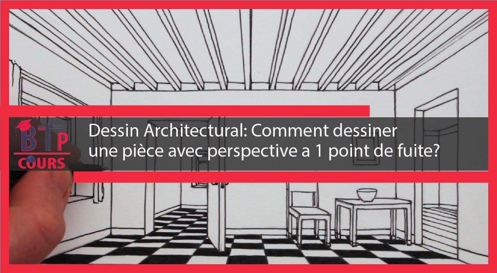 Dessin Architectural Comment Dessiner Une Pièce Avec