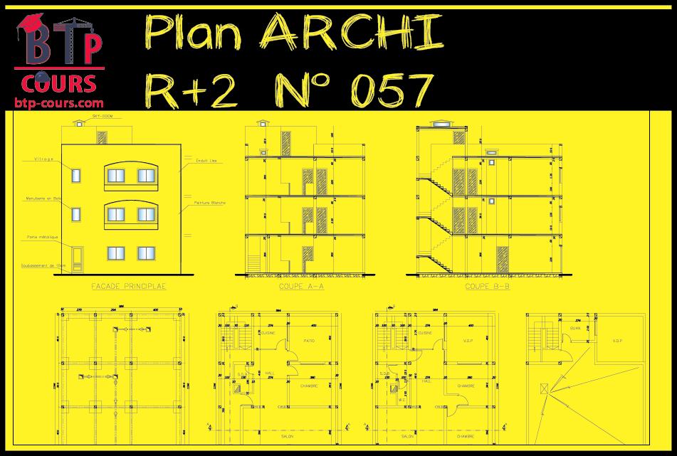 Plan De Maison Gratuit Faire Construire Sa Maison 0