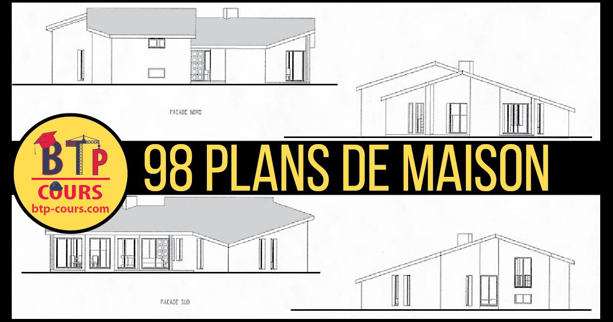 98 Plans De Maison | Cours BTP