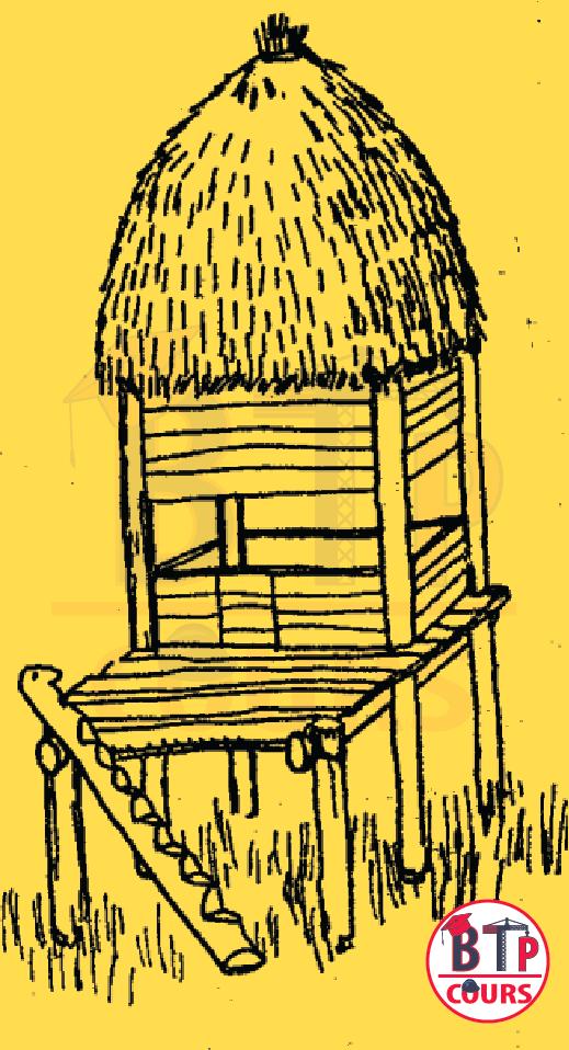 maison en bois surélevé